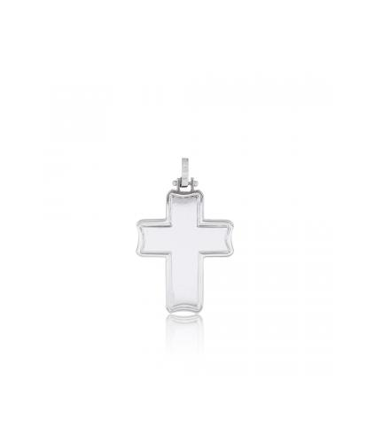 WHITE GOLD CROSS - L2 - GM